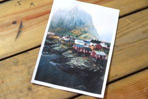 Ett foto av ett norskt fjällandskap