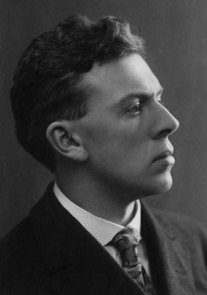 Nuori säveltäjä Ernest Pingoud.