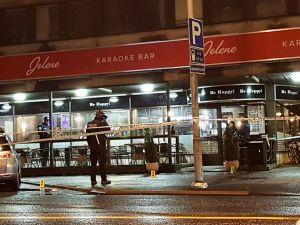 Polisoperation framför karaokebar i Björneborg.