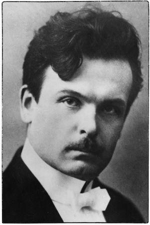 Säveltäjä Toivo Kuula vuonna 1916.