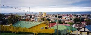 Santiago de Chilen kattonäkymä
