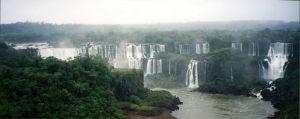 Foz do Iguaçunissa Iguassun putokset Etelä-Amerikassa
