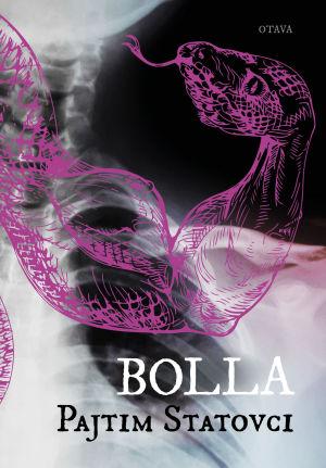 "Pärmen till Pajtim Statovcis roman ""Bolla""."