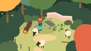 Kuva Sokpopin pelistä, jossa pelihahmo kantaa toista.
