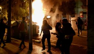 palavia roskasäiliöitä Barcelonassa