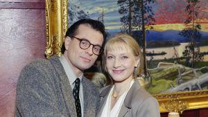 Matti ja Anita Kunkainen (Tapio Liinoja ja Jaana Järvinen)