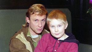Asko ja Joonas Kunkainen (Heikki Paavilainen ja Elias Vakkuri)