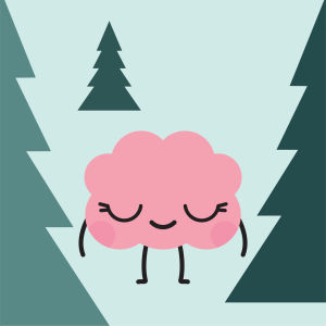 aivohahmo metsäretkellä