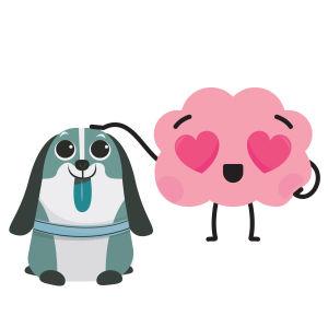 aivohahmo ja koiraystävä