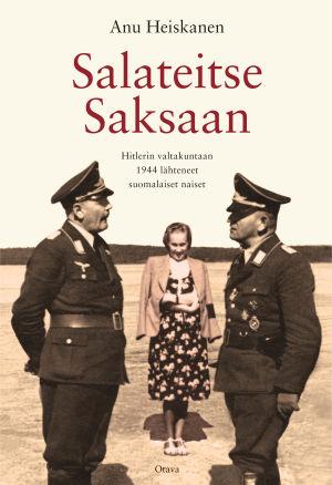 "Pärmen till Anu Heiskanens bok ""Salateitse Saksaan""."