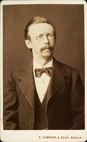 Richard Faltin vanhempi Berliinissä 1870.