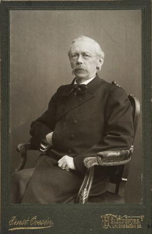 Richard Faltin vanhempi noin 1900-luvun alussa.