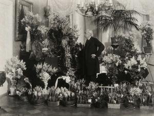 Richard Faltin vanhempi 80-vuotispäivänään 5.1.1915.
