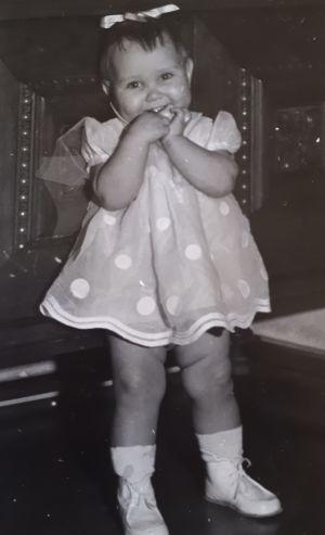 Riikka Rahi joulukuussa 1960