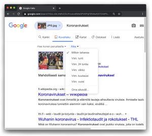 kuvakaappaus google kuvahausta