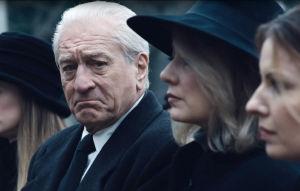 The Irishman elokuvassa Frank Sheeranin roolissa Robert De Niro