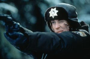 Frances McDormand elokuvassa Fargo