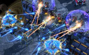 Kuva Starcraft II -pelistä.