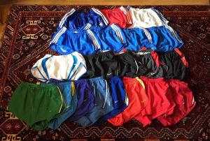 Shorts. Massor av shorts.