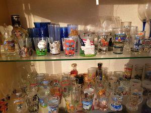 85 snapsglas, Maj Forss
