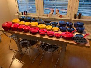 Högfors Nurmesniemi gjutjärnpannor serien, Auvo Hällfors