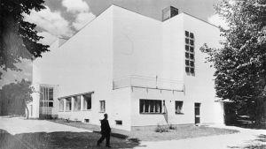 Viipurin kaupunginkirjasto 1930-luvulla.