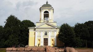 Pietari-Paavalin saksalais-ruotsalainen kirkko Viipurissa kesällä 2019.
