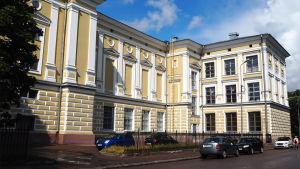 Viipurin vanha Keskuskansakoulu, nykyinen Kunnallinen Kulttuuripalatsi.