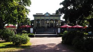 Ravintola Espilä Viipurissa kesällä 2019.