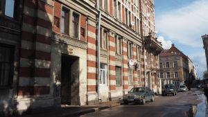 Hotelli Andréa sijaitsi Piispankadulla.