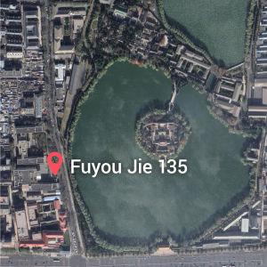 Satellitvy adressen Fuyou Jie 135 i Peking