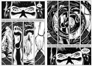 Charles Burnsin Black Hole -sarjakuva.