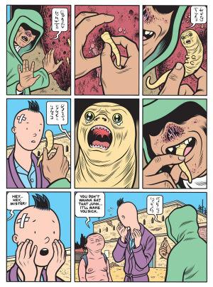 Charles Burnin sarjakuva Last look.