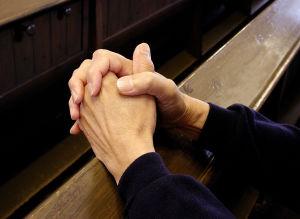 Man som ber