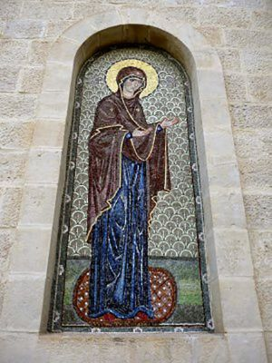 Neitsyt Maria -ikoni Jerusalemissa