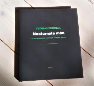 Pärmen till Thomas Brunells bok Nocturnala män.