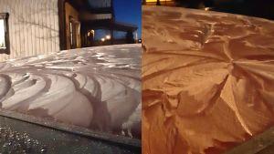 Mönster i snön