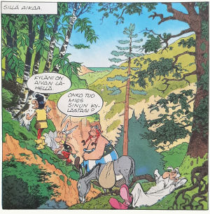 Asterix Korsikassa.