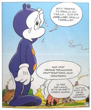 Avaruusolento Asterixissa.