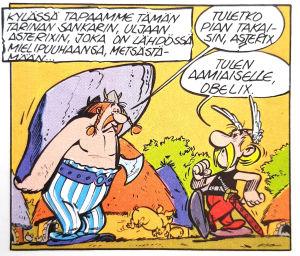 Asterix gallialaisena (hahmojen ensiesiintyminen).