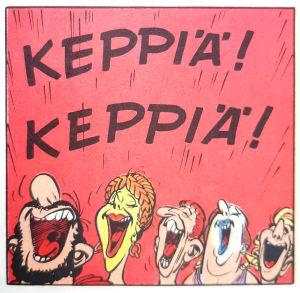 Asterix ja alppikukka.