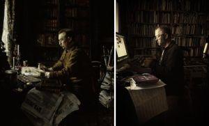 Toisinto Gallen-Kallelan maalaamasta H.F. Antellin muotokuvasta.