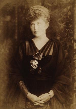 Oopperalaulaja Hanna Granfelt 1910-luvulla.