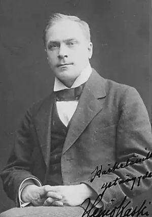 Nuori Heino Kaski.