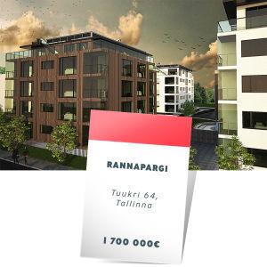 Rannapargi, Tuukri 64, Tallinna 1,7 milj. €