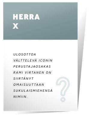 Rami Virtanen on siirtänyt kaiken omaisuutensa Herra X:n nimiin.