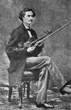 Nuori viulutaiteilija Ernst Fabritius.