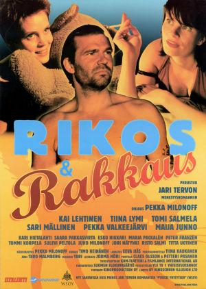 Elokuvan Rikos & Rakkaus juliste.