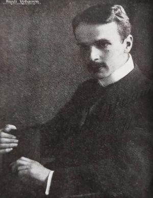 Pianisti Kosti Vehanen 1910-luvulla.