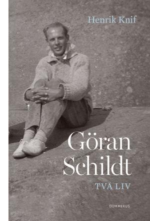 Pärmen till Henrik Knifs biografi över Göran Schildt.